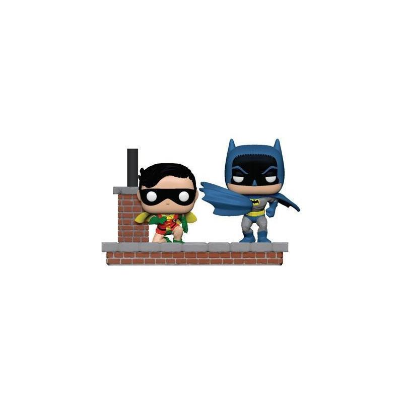 Funko Pop Batman and Robin #281 - Comic Moments 1972 80th Anniversary - DC - Heroes
