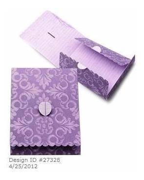 Arquivo Silhouette Cartao E Envelope P/ Corte - 0097 Original