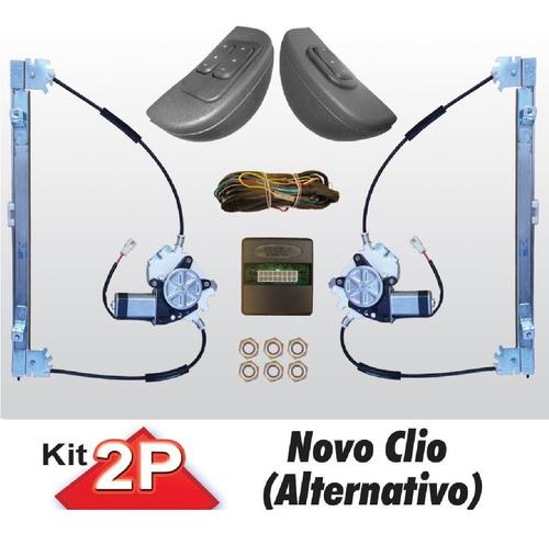 Vidro Eletrico Renault Clio 2 Portas Sensorizado Alternativo Original