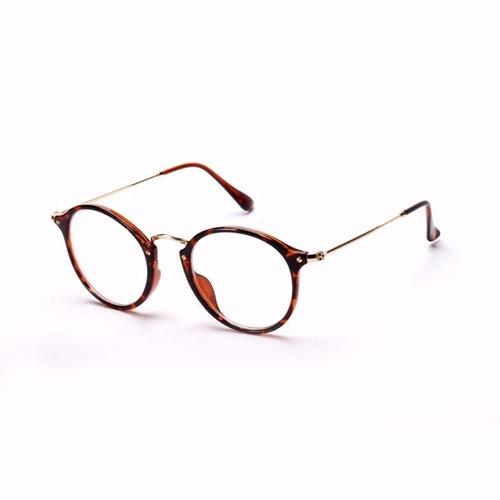 f68044267c570 Armação Óculos De Grau Redondo Masculino Feminino Brinde à venda em ...