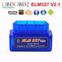 Scanner Automotivo Conector Obd2 Elm327 Bluetooth