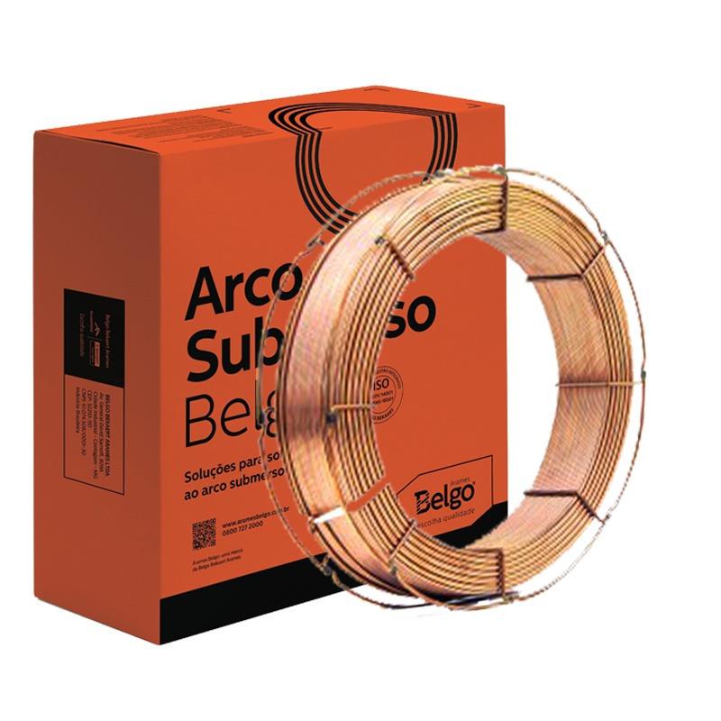 ARAME ARCO SUBMERSO EL12 3.18 BELGO 30KG