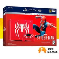 Sony Playstation 4 PRO 1Tb Spider Man - 10 Jogos grátis