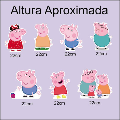 Displays Em Mdf Adesivados Peppa Pig Original