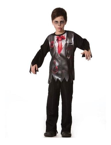Fantasia De Noivo Cadáver Victor Corpse Infantil Halloween Original