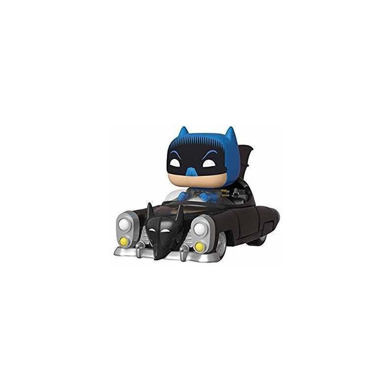 Funko Pop Rides The Batmobile #277 Batmóvel 1950 80th Anniversary - DC - Heroes