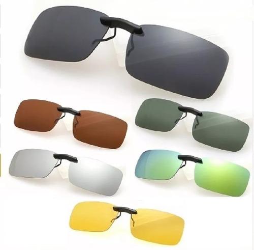 c1aeecf4747f3 ... comprar Clip On Óculos De Grau Discreto Sobrepor Proteção 400 U V ...