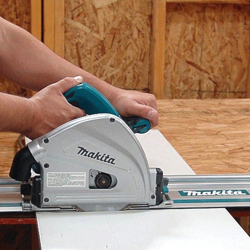 Serra Circular Manual de Trilho 165 mm 1.300 Watts C/ Maleta - SP6000J - Makita