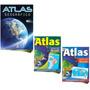 Atlas Geográfico Atlas Brasil Atlas Mundo Megapôster 1 Metro