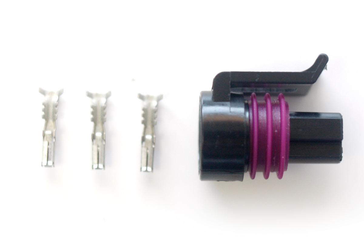 Conector de sensor de pressão Dacar 3 vias fê...