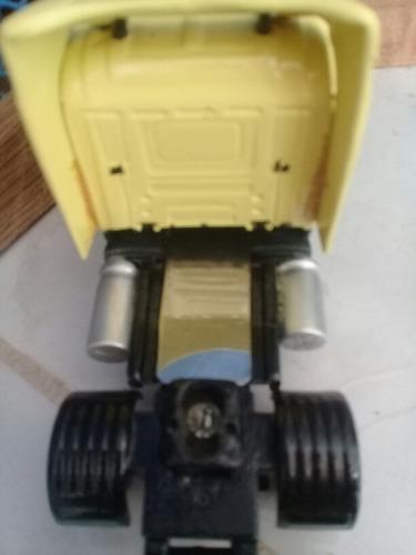 Miniatura De Caminhao Escala 1.50e Fabricante Arpra Scania 1 Original