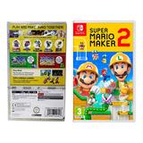 Jogo para Nintendo Switch Super Mario Maker 2 Mídia Física Original