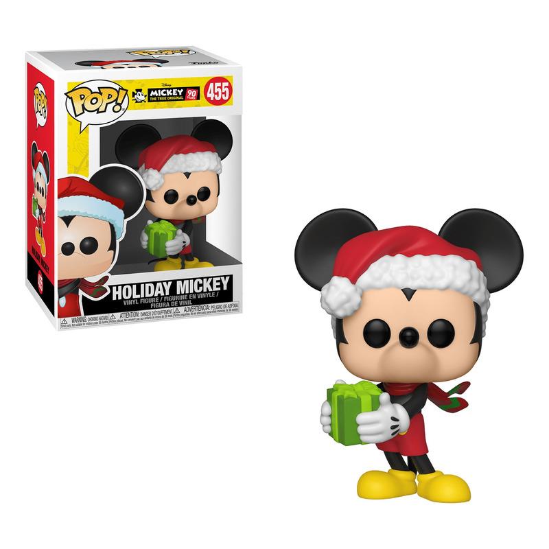 Holiday Mickey Pop Funko #455 - 90th Anniversary - Disney