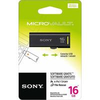 Pen Drive 16GB Sony Preto - USM16GR-BM