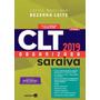 Clt Organizada Saraiva 6ª Ed. 2019