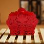 25 Caixinhas D Papel P Lembrancinha Vermelho Corte A Laser