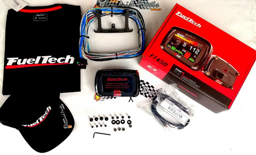 Fueltech Ft450 Chicote 3m + Camiseta Oficial +bone + Brindes Original