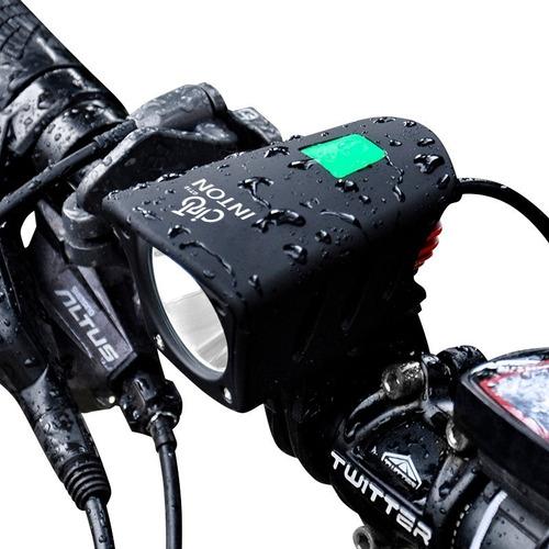 Farol Bike Bicicleta Lanterna 8.4 V Melhor Que Vicini Top Original