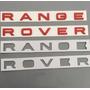 Emblema Letras Range Rover Sport Evoque Frente E Traseira