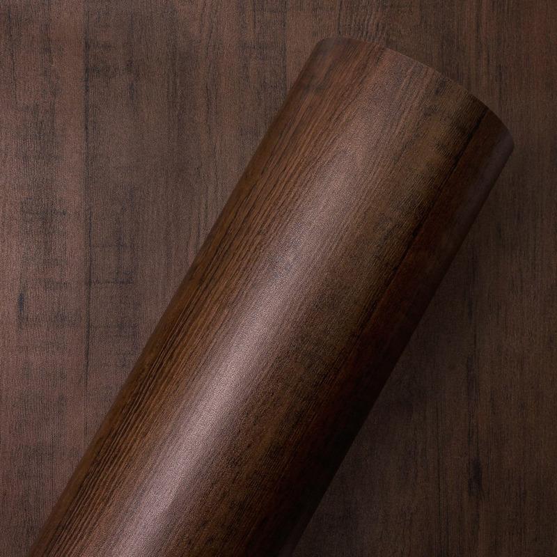 Adesivo parede parde madeira salamanca Larg. 1,22 m