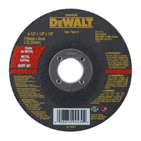 Disco Corte Metal 4.1/2 x 1/8 x 7/8  - Dewalt