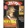 Revista Bizz 80 xuxa, raul Seixas, rita Lee, nirvana