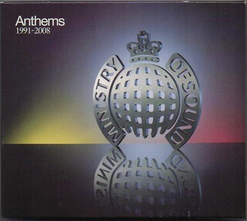 Cd - Anthems 1991-2008 - 3 Cds - Importado - Zerado Original