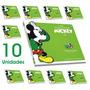 Coleção Hq Os Anos De Ouro De Mickey Lote Atacado 10 Un