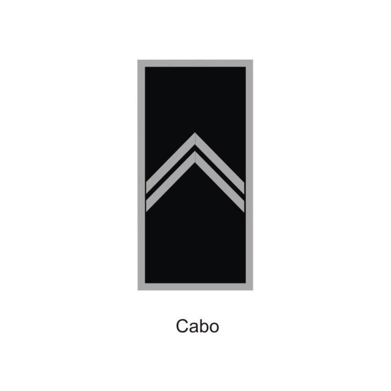 Divisa Cabo PM Emborrachada - U