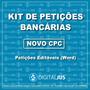 Petições Direito Bancário Novo Cpc | Revisionais Bancos 2018
