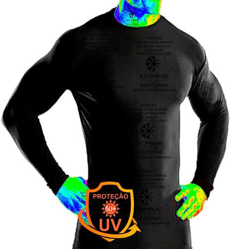 Camisa Térmica Segunda Pele Proteção Uv Extreme Thermo Mista Original