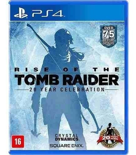Tomb Raider Rise Ps4 Mídia Física Jogo 100% Em Português Original