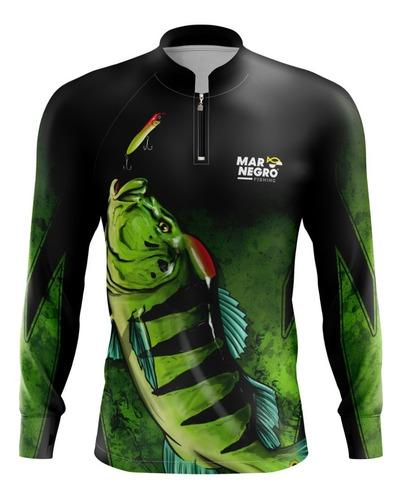 Camisa Pesca Com Proteção Solar Dry Fit Blusa Camiseta Original