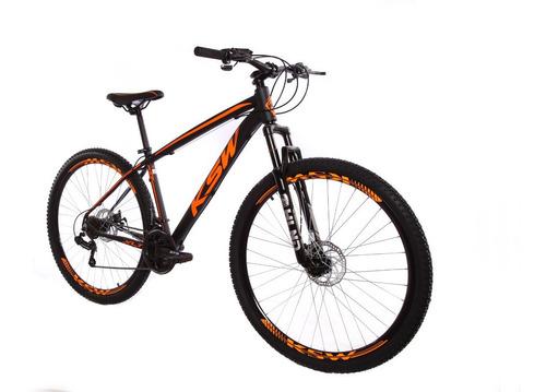 Bicicleta Ksw Aro 29 21v Freios À Disco Câmbios Shimano Original
