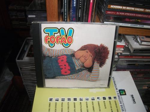 Cd - Fofao (balao Magico) Tv Fofao Cd Raro!!!