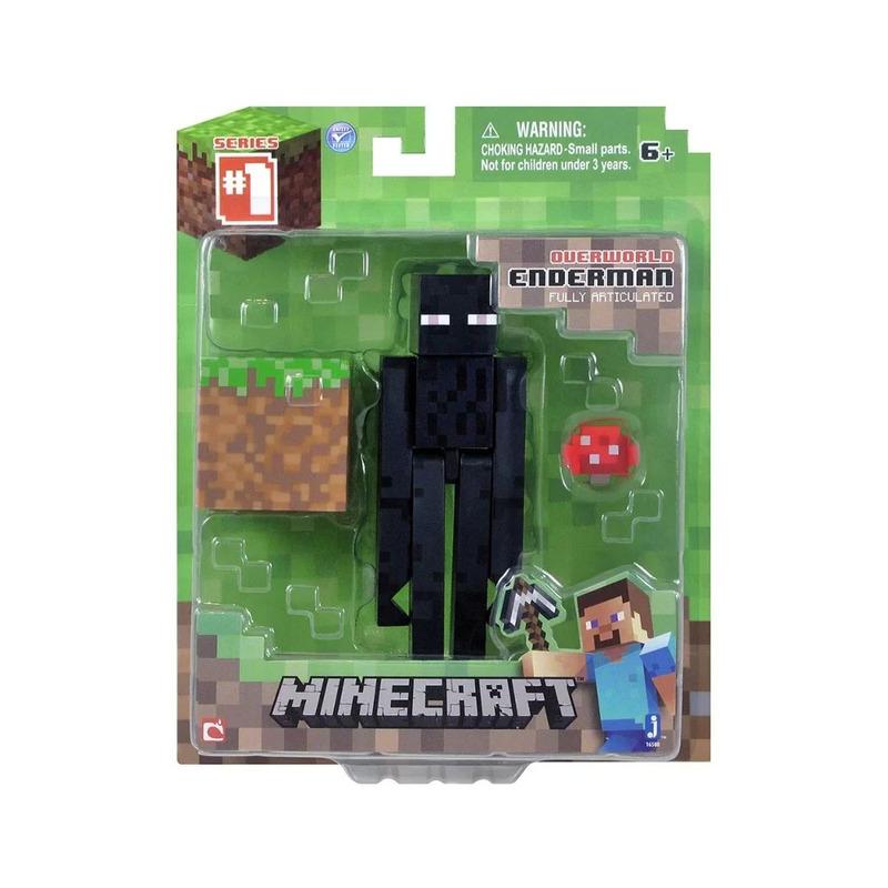 Boneco Minecraft Enderman com Acessórios Multikids - BR144