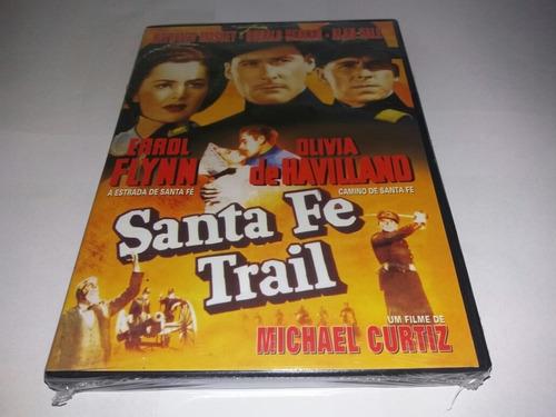 Dvd - A Estrada De Santa Fe - 1940 - Errol Flynn - Lacrado Original