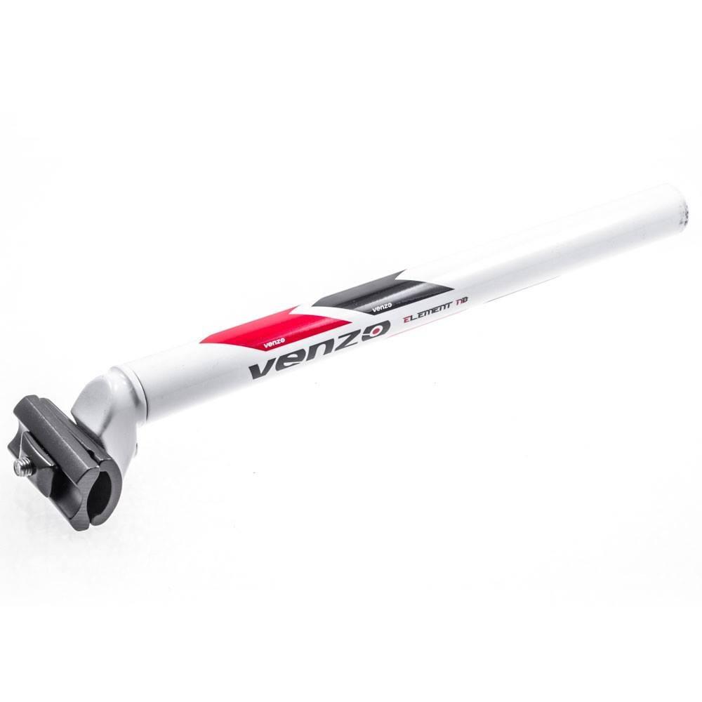 CANOTE VENZO ELEMENT NB 27.5mm x  350mm Branco