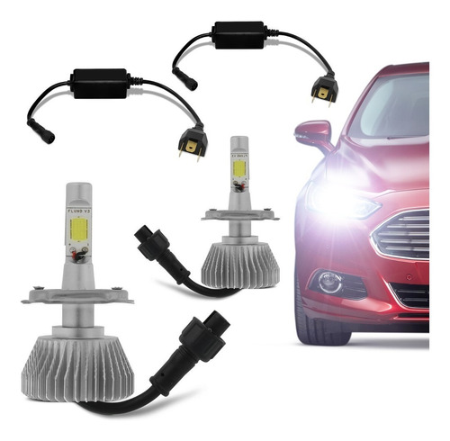 Lampada Led Automotivas H1 H3 H4 H7 H8 H11 Hb3 Hb4 6000k Original