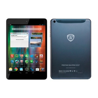 TABLET PC 7,85 POL QUAD CORE 1.6 GHZ ANDROID 4.2 1GB RAM 8 GB STORAGE PRESTIGIO PMP_QUAD 5785C