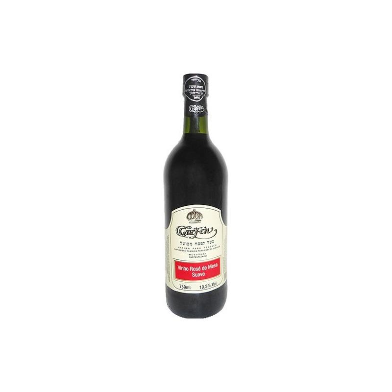 Vinho Rosé Suave Izabel/Bordô 750ml (cxa c/ 12 uni) - Guéfen