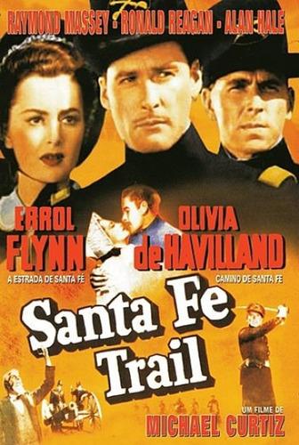Dvd Filme - A Estrada De Santa Fé Original