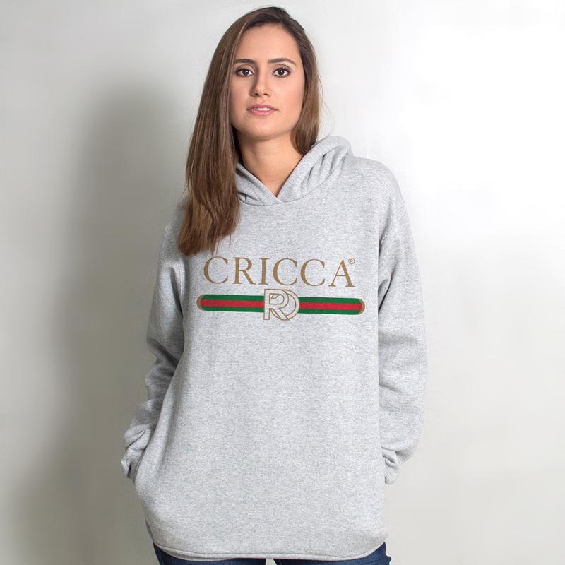 MOLETOM CINZA - CRICCA