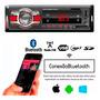 Auto Radio Automotivo Usb Sd Fm Som Mp3 Player Bluetooth