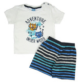 Conjunto Bebê Camiseta e Bermuda TMX Baby