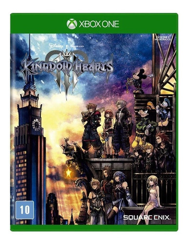 Kingdom Hearts 3 Mídia Física Pronta Entrega Xbox One Original