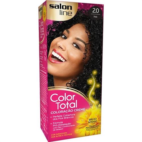 Tinta Salon Line Color Total 2.0 Preto
