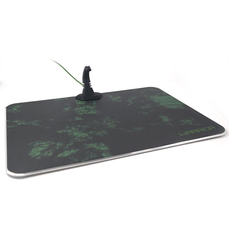 Mouse Pad com Led RGB Gamer Warrior Multilaser - AC299