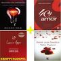 Kit 4 Livros Mantenha Seu Amor Aceso Louco Amor E Mais