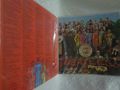 Lp-the Beatles(sgt.pepper's Lonely Hearts Club Band)mono-967
